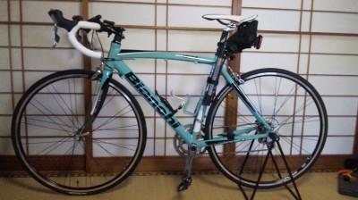 自転車ビアンキ