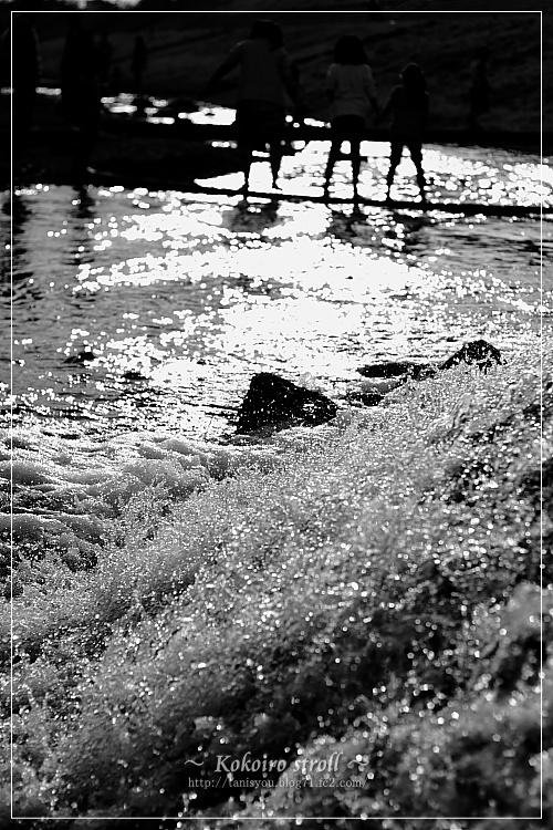 武庫川水遊び