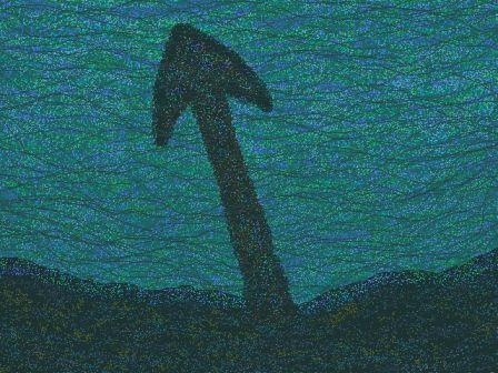 *水底の錨