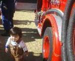 さぁ、次は消防車へ・・・