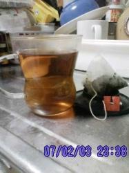ミント甜茶