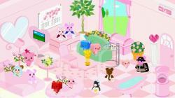 桜色の部屋