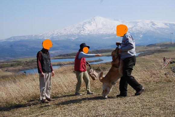 タロと鳥海山