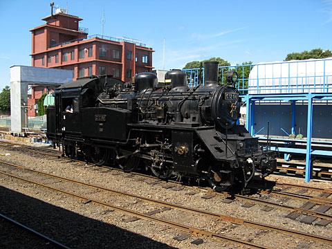 真岡鐵道蒸気機関車