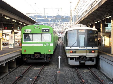 京都駅7番線