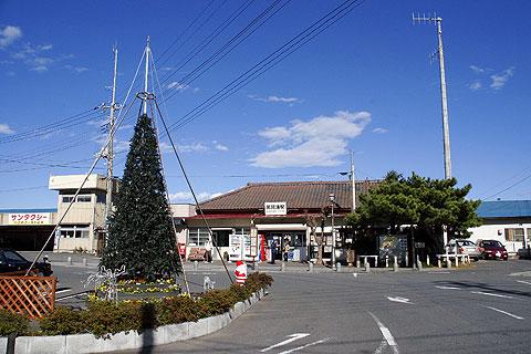 湊駅前のツリー
