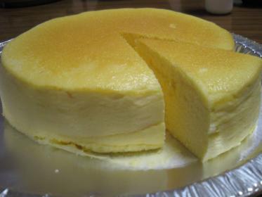 チーズスフレ。