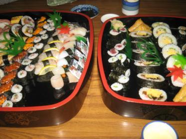寿司だぁ~~~!