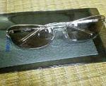 新しく買ったサングラス