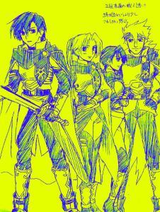 オリジ・騎士団の人々