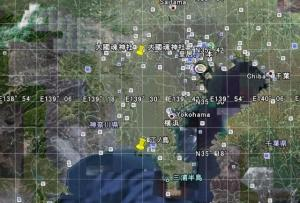 江ノ島と大國魂神社