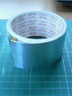 ダイソーアルミテープ