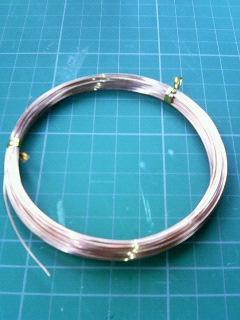 ダイソー銅製針金0.55mm
