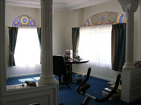 イエメンの家 書斎