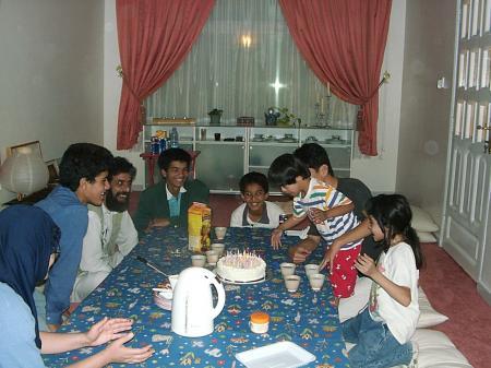 イエメンの家 リビング
