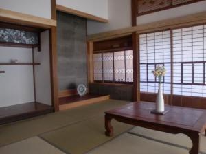 和室の水仙