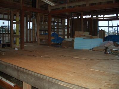 LD床下地板(2009年2月5日)
