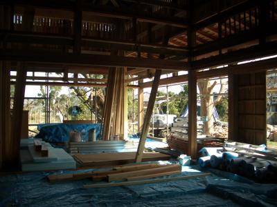 室内南東(2009年2月14日)