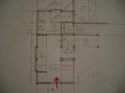 台所平面図拡大