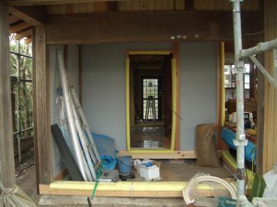 玄関から勝手口まで(2009年3月11日)