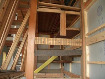 床の間の網代天井