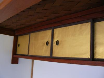 床脇の戸襖