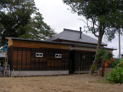 別棟北側(2009/08/04)