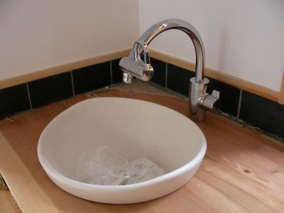 洗面所の水栓