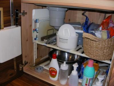 キッチン シンク下収納