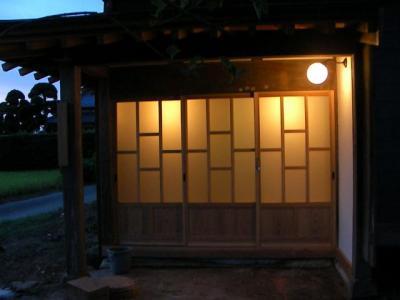 玄関外(2009/08/20)