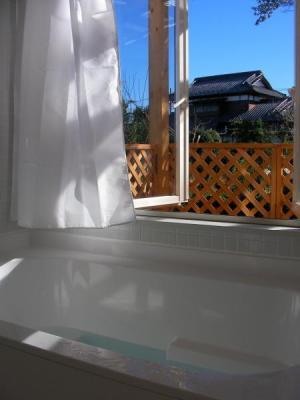 WEB 内覧会 浴室 バスタブからの景色