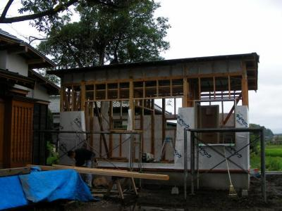 別棟工事 2009/07/22