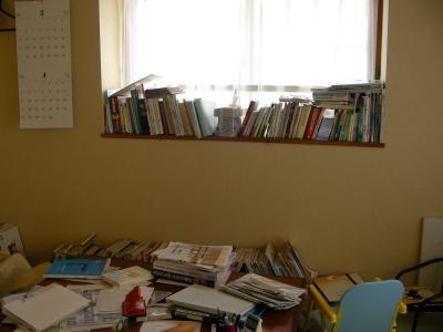 本で埋まっている部屋