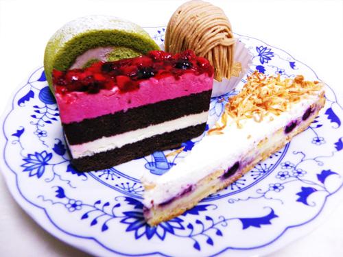 美味しいケーキ各種