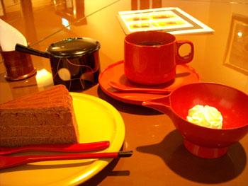 輪島塗りのコーヒーカップ