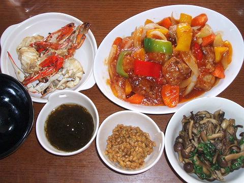 2008626夕ご飯