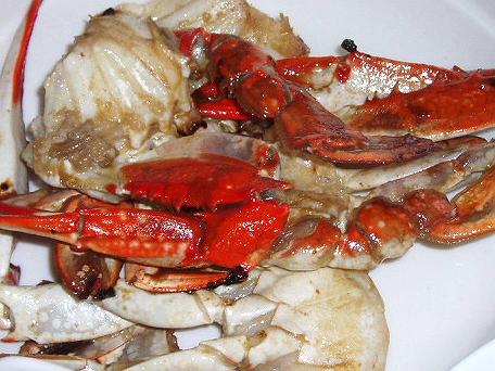 2008626渡り蟹のナムプラー炒め