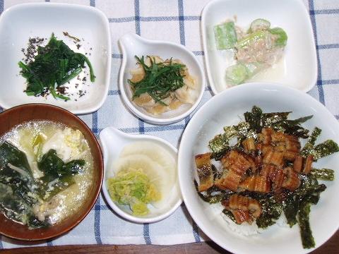 20081017怪獣君の夕ご飯
