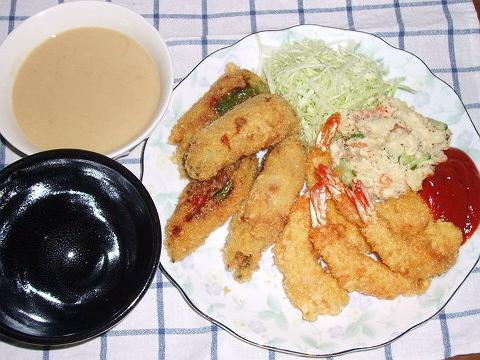 20081022夕ご飯