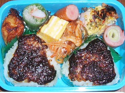 20081103怪獣君のお弁当
