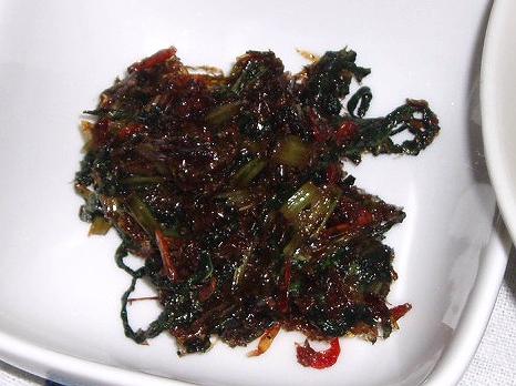 20081103チシャ菜の常備菜