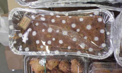 20081116オーガニックフルーツのケーキ