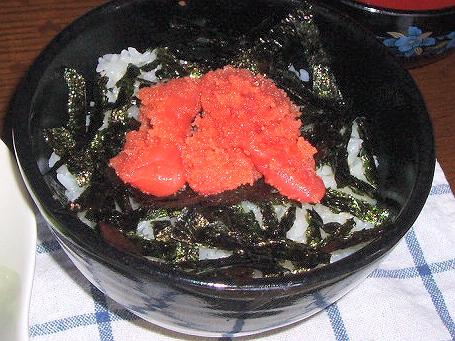 2009112明太ご飯