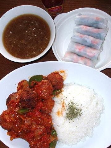 2009201夕ご飯