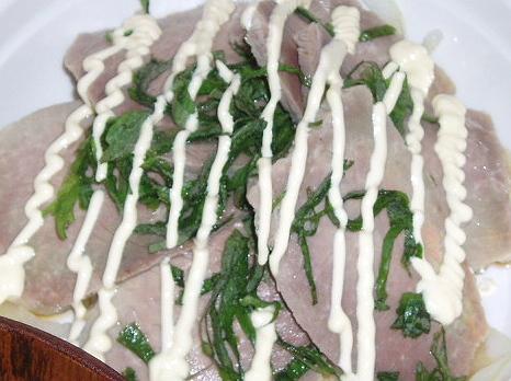 20090219豚モモハムサラダ