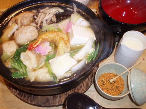 20090302鍋焼きうどん
