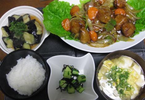 20090310酢豚定食2