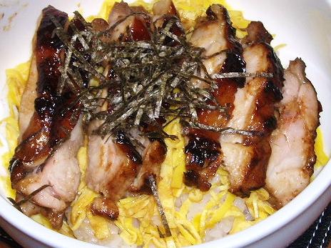 20090328鶏照り丼