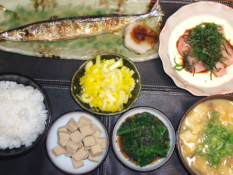 20090410夕ご飯