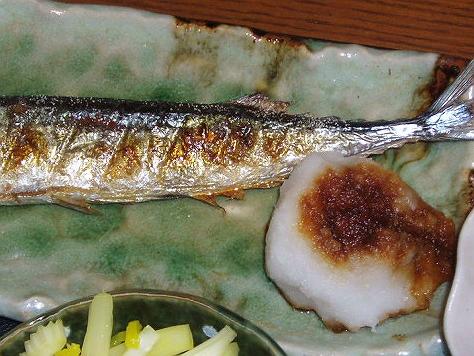 20090410秋刀魚の塩焼き